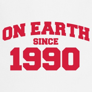 Wit onearth1990 T-shirts - Keukenschort