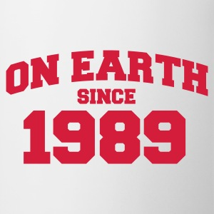 Wit onearth1989 T-shirts - Mok