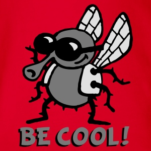 be_cool_fly_3c Tee shirts - Body bébé bio manches courtes