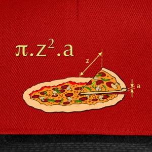 Rouge Pizza T-shirts - Casquette snapback