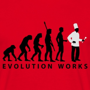 evolution_koch_2c_b Sweaters - Mannen T-shirt