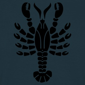Marine Hummer / lobster (1c) Tabliers - T-shirt Homme