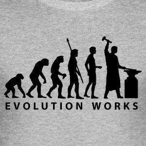 evolution_schmied Hoodies & Sweatshirts - Men's Slim Fit T-Shirt