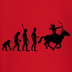 evolution_indianer T-shirts - Långärmad T-shirt baby