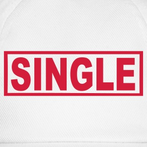 Weiß Single Tassen - Baseballkappe