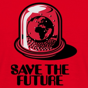 Red Save the future Bags  - Men's T-Shirt