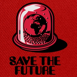 Red Save the future Bags  - Snapback Cap