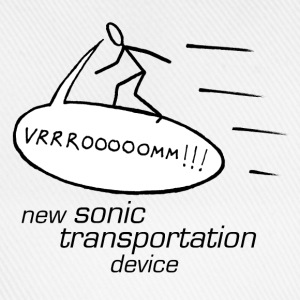 sonic transportation badges - small - Baseball Cap