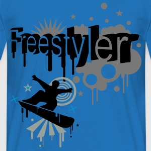 Red freestyler Hoodies & Sweatshirts - Men's T-Shirt