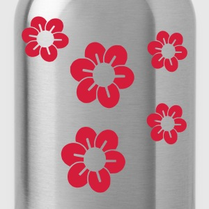 Lilac Blossom/ flowers Umbrellas - Water Bottle