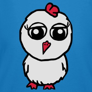 Peacock-blue chicken Bags  - Men's Organic T-shirt