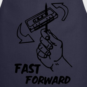 Navy fast_forward_1c T-Shirts - Kochschürze