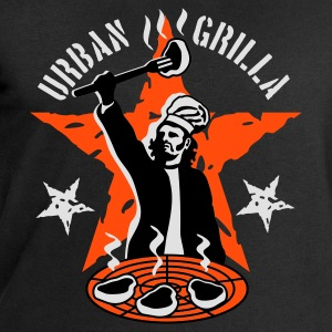 Urban Grilla, barbecue chef / cook - Men's Sweatshirt by Stanley & Stella