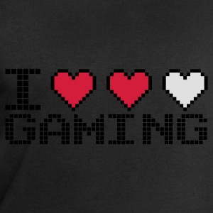 Noir I Heart Gaming T-shirts - Sweat-shirt Homme Stanley & Stella