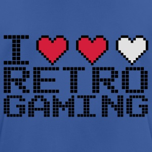 Kongeblå I Heart Retro Gaming Sweatshirts - Herre T-shirt svedtransporterende