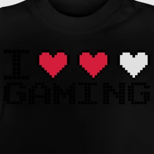 Navy I Heart Gaming Kinder sweaters - Baby T-shirt