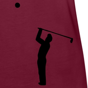 peacock blue, golfer 3 - Women's Oversize T-Shirt