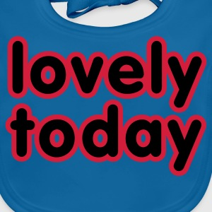 Navy Lovely today © Kinder T-Shirts - Baby Bio-Lätzchen