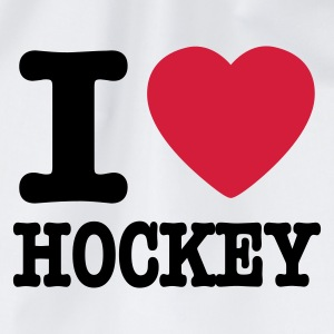 Wit i love hockey Sweaters - Gymtas