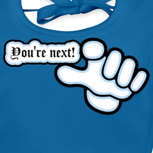 Azul intenso you 're next (DDP) Camisetas niños - Babero ecológico bebé