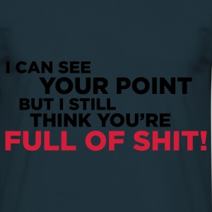 Marine You're full of shit 1 (2c, NEU) Tabliers - T-shirt Homme