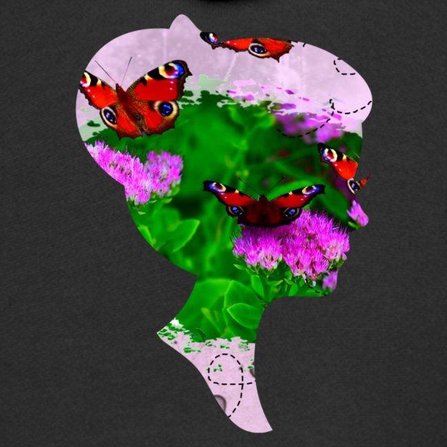 Schmetterling Dame