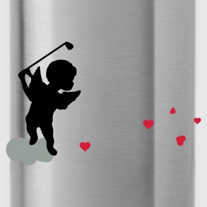 Magenta Amor with golf Club Bags  - Water Bottle