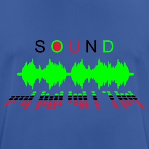 Royal blue sound_2 Hoodies & Sweatshirts - Men's Breathable T-Shirt