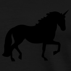 Black Unicorn Coats & Jackets - Men's Premium T-Shirt