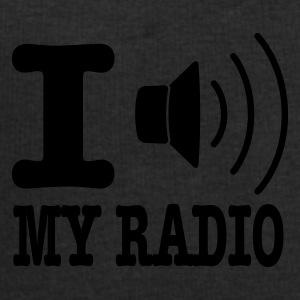 Jaune I love my radio / I speaker my radio Parapluies - Sweat-shirt Homme Stanley & Stella