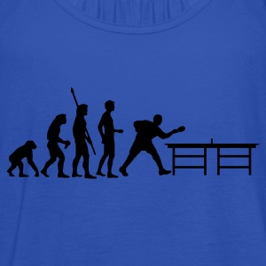 evolution_table_tennis_a Shirts - Women's Tank Top by Bella