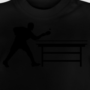 table_tennis_a_1c Shirts - Baby T-shirt