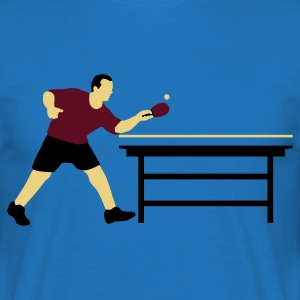 table_tennis_a_3c Delantales - Camiseta hombre