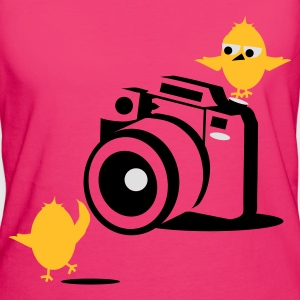 Magenta germanys_next_top_chick Taschen - Frauen Bio-T-Shirt