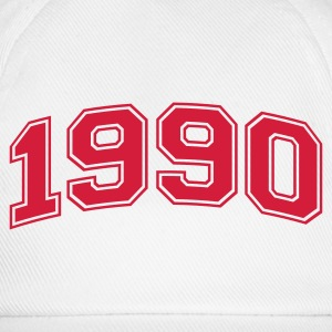 White 1990 Mugs  - Baseball Cap