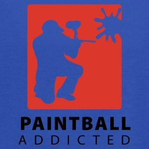Marine paintball_addicted_3 T-skjorter - Singlet for kvinner fra Bella