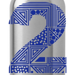 number 2 two - Water Bottle