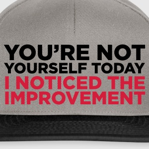 Green You're Not Yourself Today (2c) Hoodies & Sweatshirts - Snapback Cap