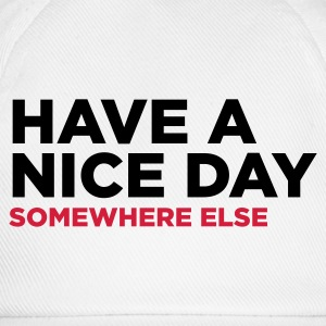 Blanc Have A Nice Day 2 (2c) Tasses - Casquette classique