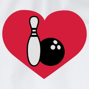 Love Bowling | Herz | Heart T-Shirts - Gymbag