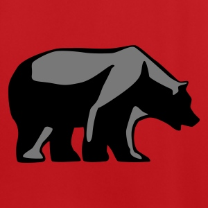 Red/white bear_2c Bags  - Men's Football Jersey