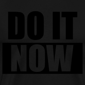 Schwarz DO IT Now - eushirt.com Schürzen - Mannen Premium T-shirt
