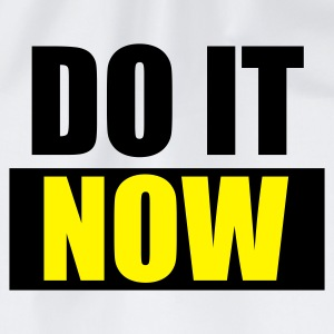 Weiß DO IT Now - eushirt.com Buttons / Anstecker - Gymnastikpåse
