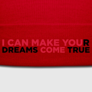 Red I Can Make You Come (2c)  Aprons - Winter Hat
