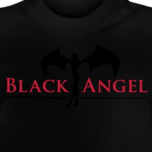 Schwarz black_angel_2c Kinder T-Shirts - Baby T-Shirt