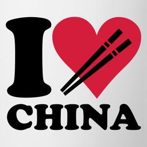 Blanco China - I love China Camisetas niños - Taza