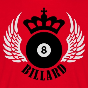 billard_eight_2c  Aprons - Men's T-Shirt