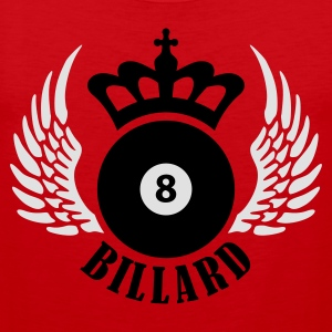 billard_eight_2c Forklær - Premium singlet for menn