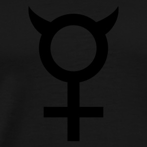 Black devil_woman_1c Hoodies & Sweatshirts - Men's Premium T-Shirt