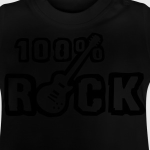 Black 100_rock_b_1c Kids' Shirts - Baby T-Shirt